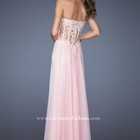 La Femme Prom Dresses 19730 at Peaches Boutique