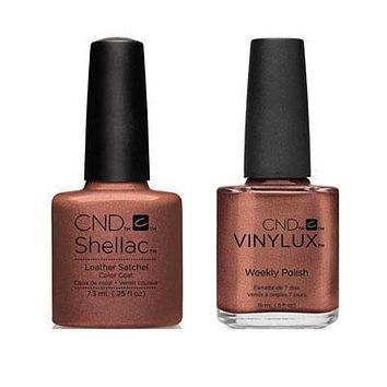 CND - Shellac & Vinylux Combo - Leather Satchel