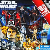 Star Wars 2011 Clone Wars Exclusive Ultimate Gift Set Action Figure 5Pack Super Battle Droid, Anakin, Count Dooku, Captain Rex Battle Droid