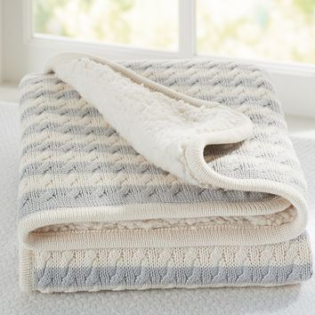 Emerson Stroller Blanket | Pottery Barn Kids