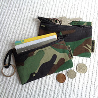 4 in 1 - keychain ring / key pouch / coin purse / card holder / car documents wallet