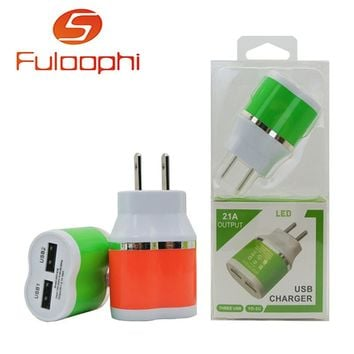 JRGK 2A Colorful quick Charge 3.0 Charger QC 3.0 5V 9V 12V usb Car Charge Fast Charger Mobile Phone Travel Adapter car-charge