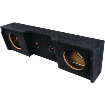 """Atrend Bbox Series Subwoofer Boxes For Gm Vehicles (12"""" Dual Downfire)"""