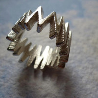 Zigzag // 925 Sterling Silver Ring