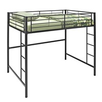 Black Metal Full Loft Bed