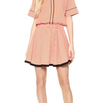 No. 21 Checkered Day Dress