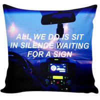 On The Road 🚘🚧🚦Quote Pillow