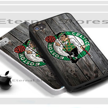 Boston Celtics NBA Team Logo - iPhone 4/4s Case - iPhone 5 Case - Samsung Galaxy S3 case - Samsung Galaxy S4 case