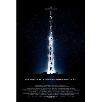 Interstellar 11x17 Movie Poster (2014)