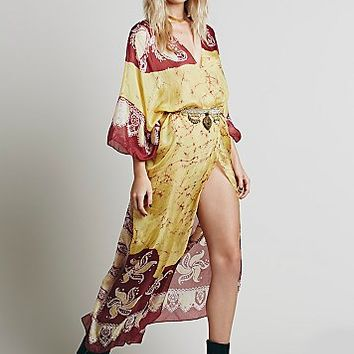 Free People Womens Oberoi Maxi Kaftan
