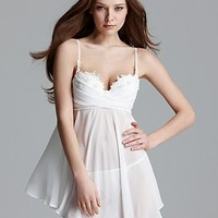 In Bloom Iris Molded Cub Babydoll with Thong | Bloomingdale's