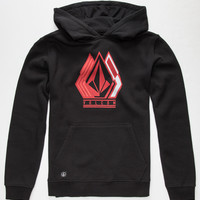 Volcom Triforge Boys Hoodie Black  In Sizes