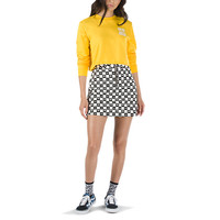 Vans x Lazy Oaf Eyeball Check Skirt | Shop Dresses and Skirts At Vans