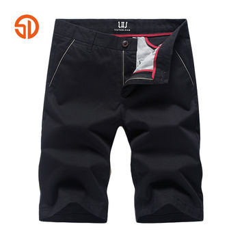 Summer Style Shorts Pant Men Cotton Men's Casual Short Pants Solid Clothing Male Shorts Beach Shorts