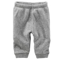 OshKosh B'gosh Marled Fleece Pants - Baby Boy, Size: