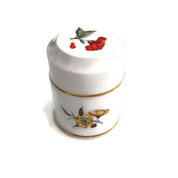 Royal Worcester Lidded Storage Jar Bon Bon Dish c1959