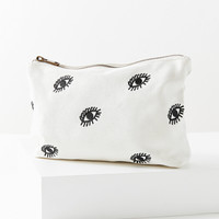 Embroidered Eye Pouch | Urban Outfitters
