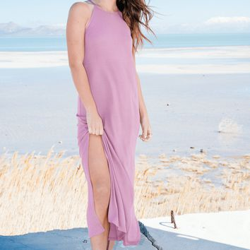 Grapeade Side Slit Maxi