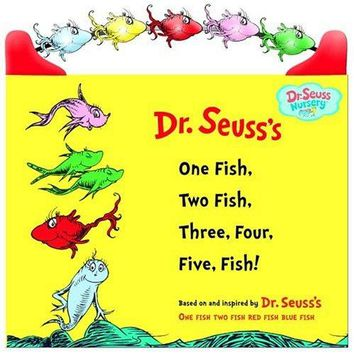 Dr. Seuss's One Fish, Two Fish, Three, Four, Five Fish! Book