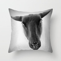 sheep Throw Pillow by Marianna Tankelevich   Society6
