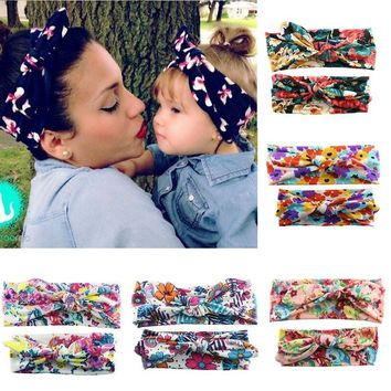 Mother and Daughter Matching Headband  Set