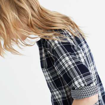 Herald Tee in Curtis Plaid