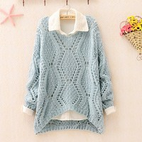 Over Size Knit Sweater for Women