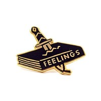 Feelings Book Pin