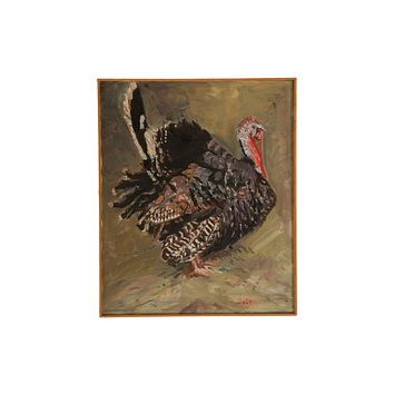 Grace B. Keogh Painting of a Turkey