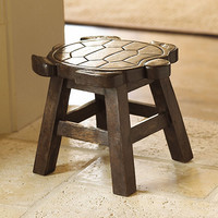 Turtle Stool - Turtle Footstool - Turtle Stepstool
