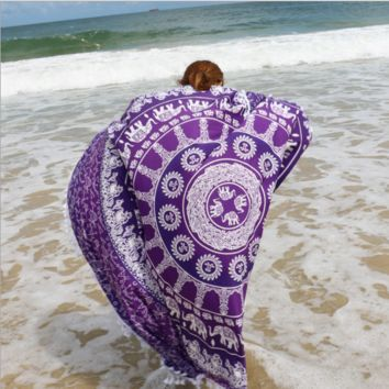 Mandala Boho Bohemian Wall Bed Table Beach Tapestry B0014836