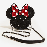 Loungefly Disney Quilted Minnie Mouse Crossbody Bag