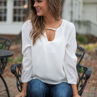 Rather Be Blouse, White