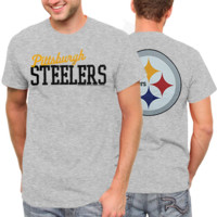 Pittsburgh Steelers Game Day T-Shirt - Heathered Gray