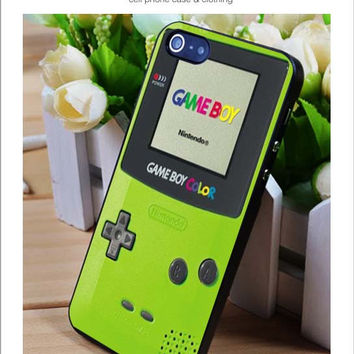 Gameboy Color iPhone for 4 5 5c 6 Plus Case, Samsung Galaxy for S3 S4 S5 Note 3 4 Case, iPod for 4 5 Case, HtC One for M7 M8 and Nexus Case