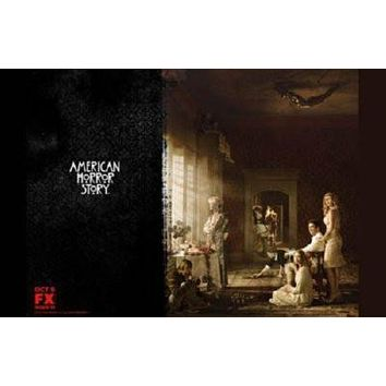 American Horror Story poster Metal Sign Wall Art 8in x 12in