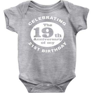 Funny 40th Birthday Baby Onesuit