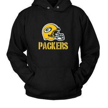 DCCKL83 Green Bay Packers Football Hoodie Two Sided