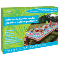 "Summer Party Inflatable Buffet Cooler, 52"" x 28"""