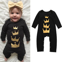 Baby Kids Boy Girl Warm Infant Romper Jumpsuit Cotton Clothes Outfit Baby Stuff Autumn Clothes