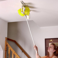 "Hampton Direct Ceiling Fan Duster Electromagnetic 47"" Long Reach -Clean Home"