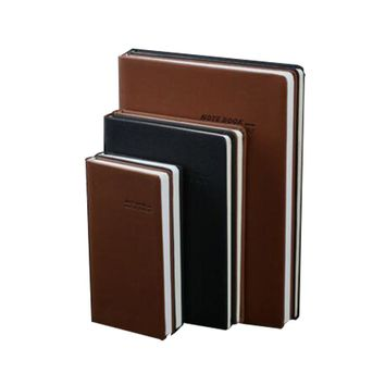3pcs/Set Office School Supplies Notebooks Writing Pads Notebook Faux Leather Business Composition Book Hardcover 100 Sheets Book