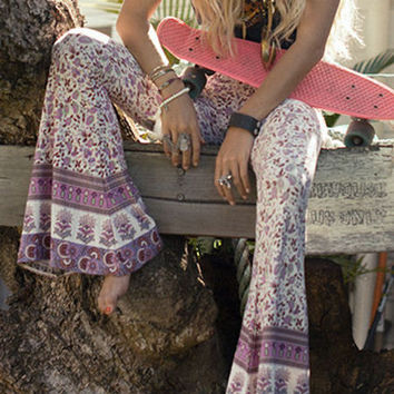 Throwback to 60's Hippie Chic Bell Bottoms