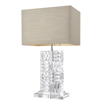 Crystal Table Lamp | Eichholtz Contemporary