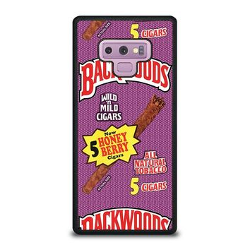 ONLY BACKWOODS CIGARS Samsung Galaxy Note 9 Case