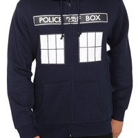 Doctor Who I Am TARDIS Zip Hoodie - 124033