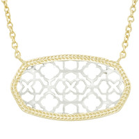 Kendra Scott Dollie Necklace - Silver & Gold