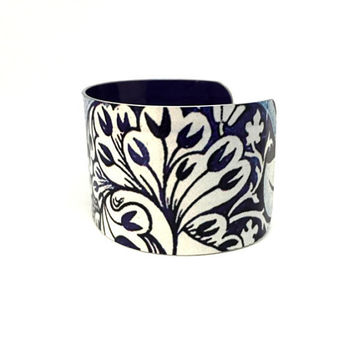Filigree Cuff Bracelet William Morris Jewelry Textile Patterns Plant Jewellery Victorian Art
