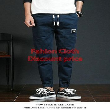 Adidas Trousers Mens M-3XL 2018 Spring Clothes Blue