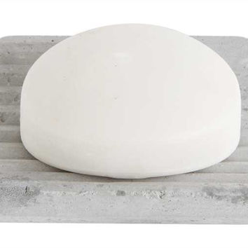 "Creative Co-op - 4""L Cement Soap Dish"